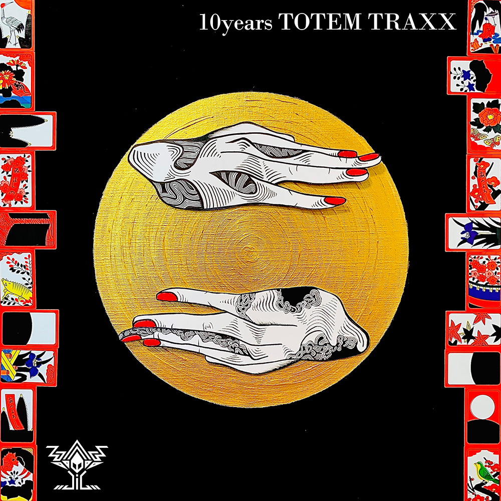 totem traxx 10yeas compilation album kanako jpred